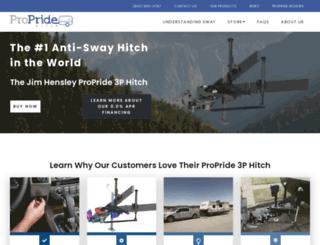 propridehitch.com screenshot