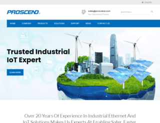 proscend.com screenshot