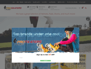 proskatersplace.eu screenshot