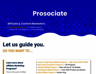 prosociate.com screenshot