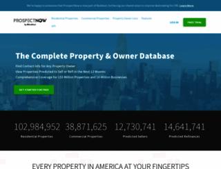 prospectnow.com screenshot