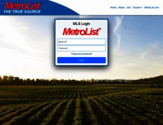prospector.metrolist.net screenshot