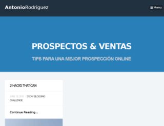 prospectosyventas.com screenshot