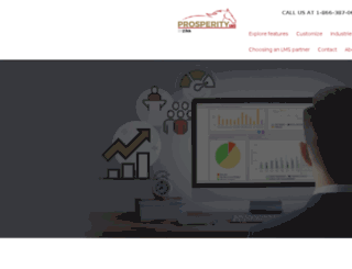 prosperitylms5.com screenshot