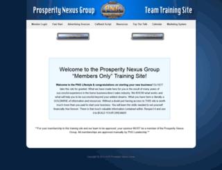 prosperitynexus.com screenshot