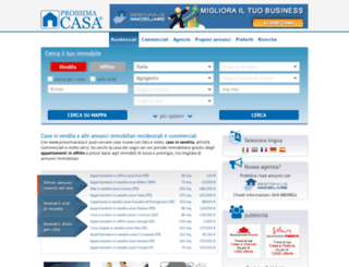prossimacasa.it screenshot