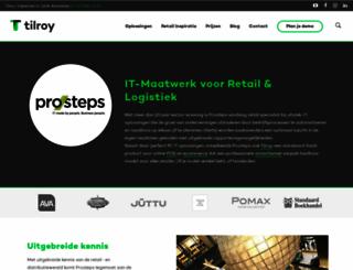 prosteps.be screenshot