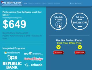protaxpro.com screenshot