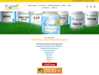 protazen.com screenshot