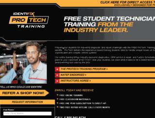 protech.identifix.com screenshot