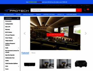 protechprojection.com screenshot