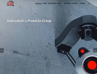 protectagroup.co.rs screenshot