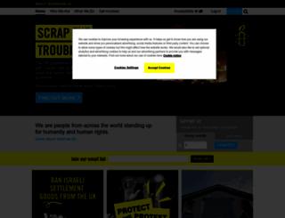 protectthehuman.com screenshot