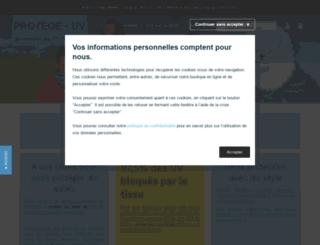 protegeuv.com screenshot