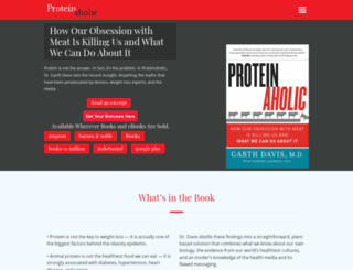 proteinaholic.com screenshot