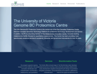 proteincentre.com screenshot