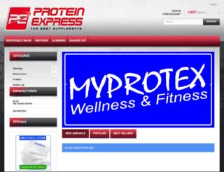 proteinexpress.jp screenshot