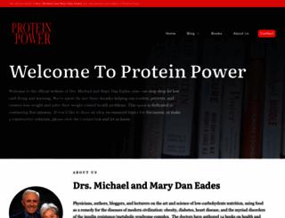 proteinpower.com screenshot