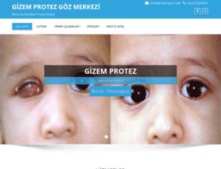 protez-goz.com screenshot