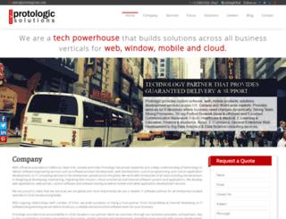 protologicsln.com screenshot