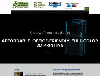 prototypingsolutions.com screenshot