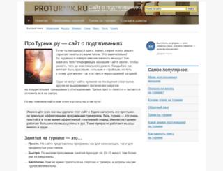 proturnik.ru screenshot