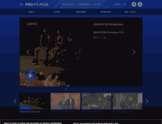 protvplus.ro screenshot
