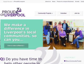 proudofliverpool.org.uk screenshot