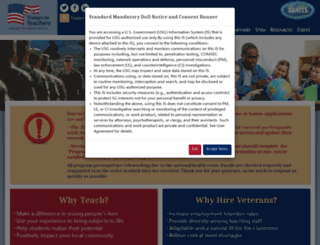 proudtoserveagain.com screenshot