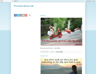 proverbs-about-life.blogspot.in screenshot