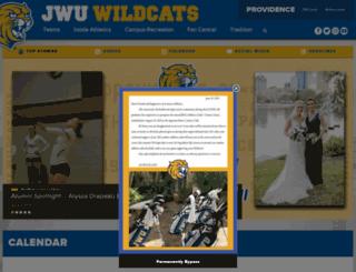 providence.jwuathletics.com screenshot
