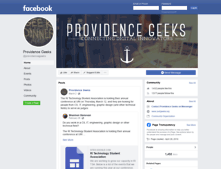 providencegeeks.com screenshot
