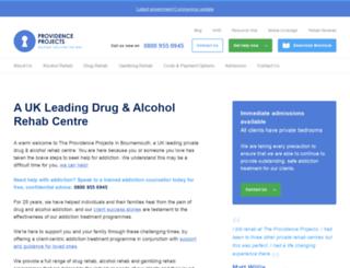 providenceproject.org screenshot