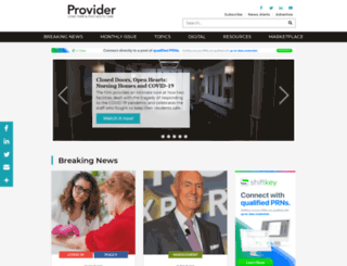 providermagazine.com screenshot