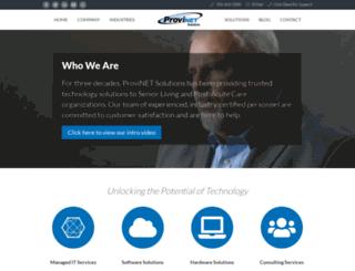 provinet.com screenshot