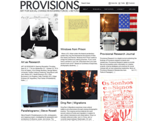 provisionslibrary.org screenshot