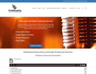 provoiceusa.com screenshot