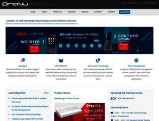provu.co.uk screenshot