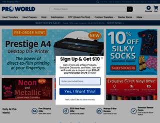proworldinc.com screenshot