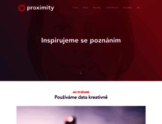 proximity.cz screenshot
