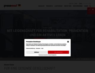 proxomed.de screenshot