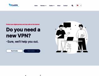 proxpn.com screenshot