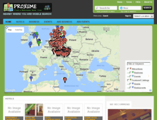 proxume.co.uk screenshot