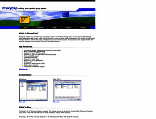 proxycap.com screenshot