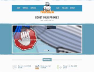 proxynoid.com screenshot