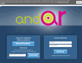 proyectoandar.com screenshot