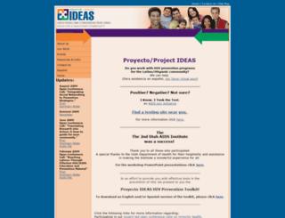 proyectoideas.jsi.com screenshot
