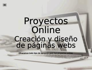 proyectonline.es screenshot