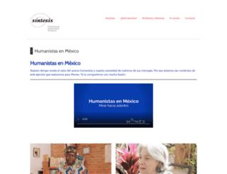 proyectosintesis.com screenshot