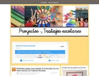 proyectosytrabajosescolares.com screenshot